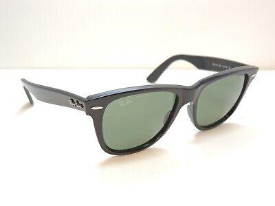 Ray Ban Wayfarer 2140 901 Black Sunglasses 54mm (Rounded Wayfarer)