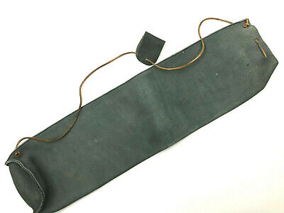 NEW TRADITIONAL BLACK SUEDE LEATHER BACK ARROW QUIVER ARCHERY PRODUCTS AQ163R
