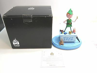 NEW WALT DISNEY'S PETER PAN TRINKET BOX SCULPTURE BY MICHELLE VALIGURA