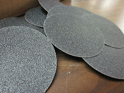 10pc 3 80 Grit Roloc Cookie Discs Silicon Carbide Sanding Disc Roll Lock Type R