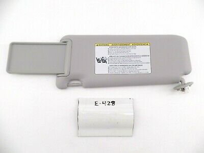 OEM SUN VISOR TOYOTA RAV4 RAV 4 13 14 15 16 17 18 RH NICE LIGHTED GREY