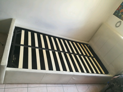 White King single gas lift bed