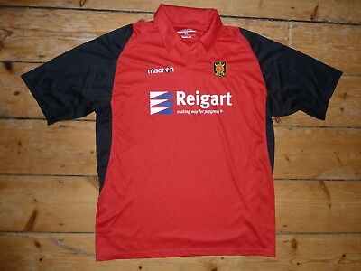 XL -  Albion Rovers FC Football Shirt Home Top Soccer Jersey Coatbridge Scotland image