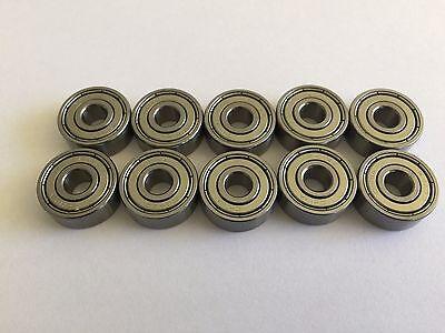 10 Pcs R4a Zz Double Metal Shielded Ball Bearing 14x 34x 0.281 Inch