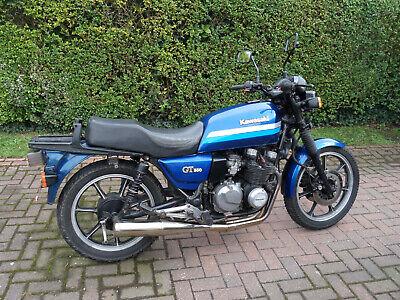 Kawasaki Z 550 GT 1988 Motorcycle Blue 2 Months MOT Runner But Needs Attention