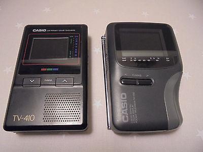 Casio Pocket Television°°2 Stück°°°DEFEKT°°°für Bastler°°°als Ersatzteilträger°°
