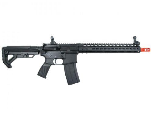 Golden Eagle MC6639 M16 Keymod RIS Gas Blowback Airsoft Rifle