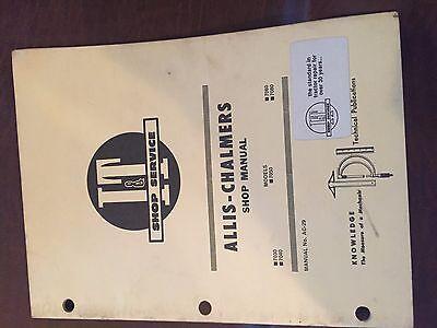 It Allis-chalmers Allis Chalmers Shop Tractor Shop Manual 7050 7060 7080
