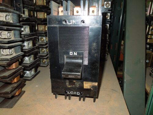 Square D Type Ml-2 994316 100a 3p 600vac Circuit Breaker Used