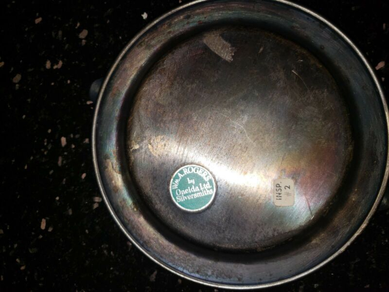PBA CONFERENCE Vintage silver plated ashtray