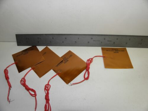 "Batch of 4 Minco Foil Heater HK5169R661L12D 2"" X 2"""
