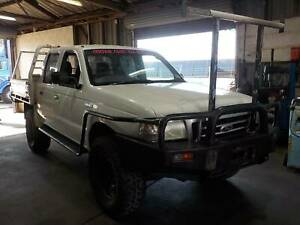 WRECKING 2006 FORD COURIER DUAL CAB 4X4 2.5L T/DIESEL MANUAL North St Marys Penrith Area Preview