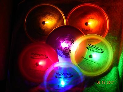 16 LED Disc Golf Lights Frisbee Disc Golf Glow Golf Battery FAST SHIPPING! NEW
