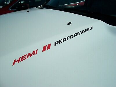 HEMI/HASHMARKS/PERFORMANCE (pair) Decals FITS Dodge Ram 1500 Charger Challenger
