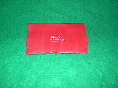 Starrett S579h Telescoping Gage Set Of 6 Double Action 516 To 6
