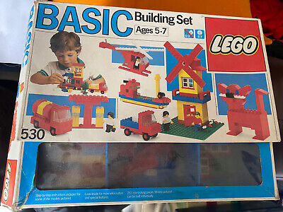 Vintage LEGO 530 Basic Building Set From 1985 Rare Classic Item