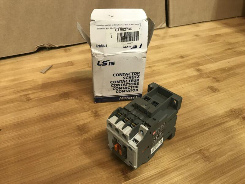 LS Metasol MC-12B-AC230V Contactor 3 pole 12A 230vac coil
