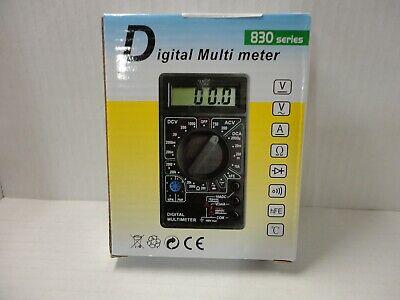 Digital Multimeter Ac Dc Circuit Electric Electronics Power Tester Voltmeter A