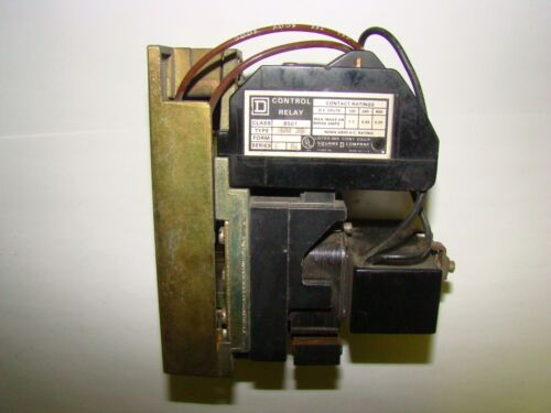 Square D 8501HDO30 Control Relay, Series C, Used