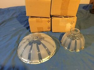 Ceiling Fan Replacement Glass Shades - New