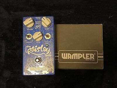 Wampler Pedals PaisleyDrive Overdrive Guitar Effect Pedal