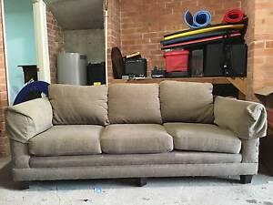Two grey sofas Balmain East Leichhardt Area Preview