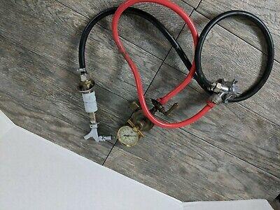 Perlick Brass Co. Beer Tap System Co2 Regulator Vintage Pabst Draft System