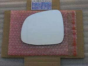 676L Replacement Mirror Glass for 2007-013 SUZUKI Sx4 SX-4 Driver Side View Left