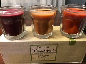 Partylite market fresh candles