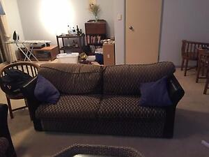 2 x 3 seater couches must go as moving overseas. FREE! Coorparoo Brisbane South East Preview