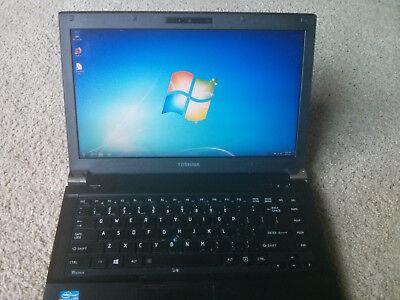 Toshiba Tecra R940 Laptop - Windows 7 Pro, Intel i5, 4GB RAM, Win 10 pro option