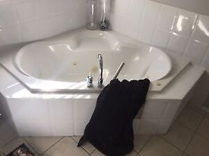 Jet tub and taps