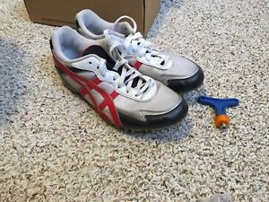 Asics running cleats size 9