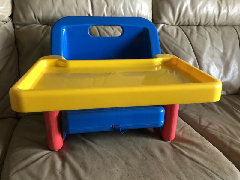 Vintage Safety 1st First Grow with Me Portable Folding Booster Seat