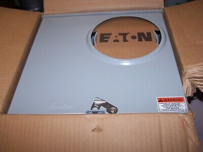 New Eaton Utrs223ach Meter Socket 200 Amp 600 Vac Nema 3r 1 Phase 3 Wire 4 Jaw
