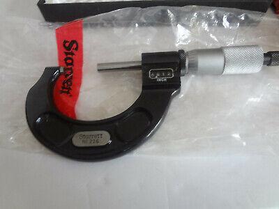 Starrett 216rl-2 Digital Outside Micrometer 1-2 Range New