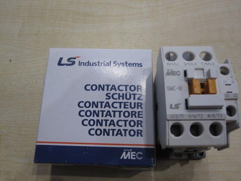 Original LS (MEC, LG) GMC-18 Contactor 7.5kW 18A Coil AC230V