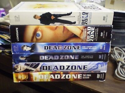 (6) Stephen King The Dead Zone Horror DVD Lot: Seasons 1-6   Complete Series - Halloween Movie Series Box Set