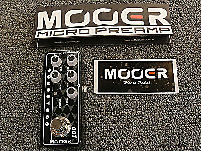 Mooer Micro Preamp 001 Gas Station Guitar Effects Pedal Based on Diezel Hagen