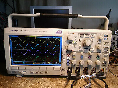 Tektronix 500mhz 2.5gss Dpo3054 With Options. Tested And Working Properly.