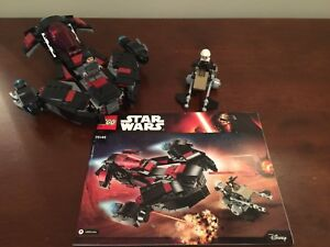 LEGO Star Wars Eclipse Fighter #75145 complete