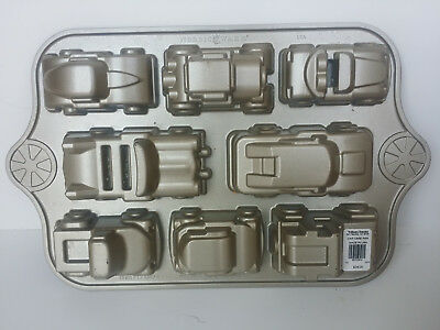 Cake Pan muffin corn bread Car Truck Jeep Mold Kid Party Nordic Ware Sweet Rides