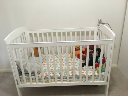 Baby cot for sale pick up only