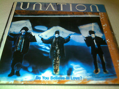 Unation   Do You Believe In Love    1993 Digipak Cd Single