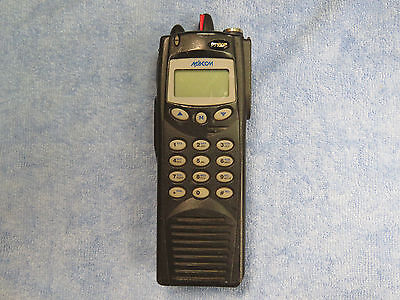 Ma-com Harris P7100 Ip 2 Way Radio - No Battery Or Antenna Ht7170t81x