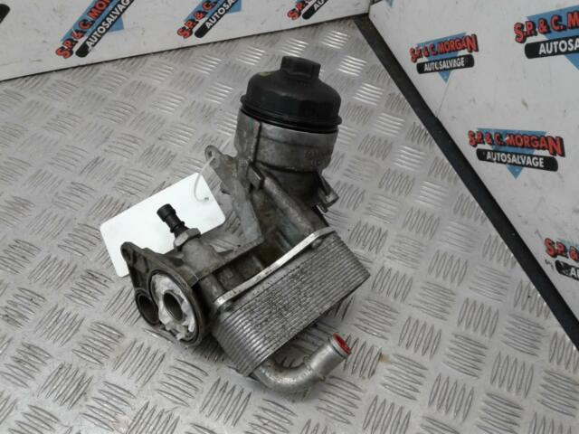 2014 VAUXHALL ASTRA Oil Cooler & Filter Housing 1.7 CDTi A17DTS 897385813 10-16