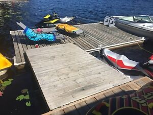 Floating dock and ramp