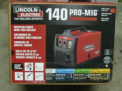 Lincoln Electric 140 Pro Mig K2480-1 Mig Flux-cored Wire Feed Welder