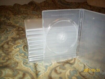 Dvd Single Clear Cases New And Used 10 Total