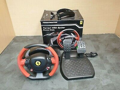 (Pa2) Xbox one Thrustmaster  Ferrari 458 Spider Racing Wheel